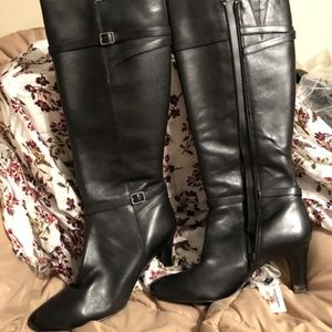 LaurenRalph Lauren Black Leather boots